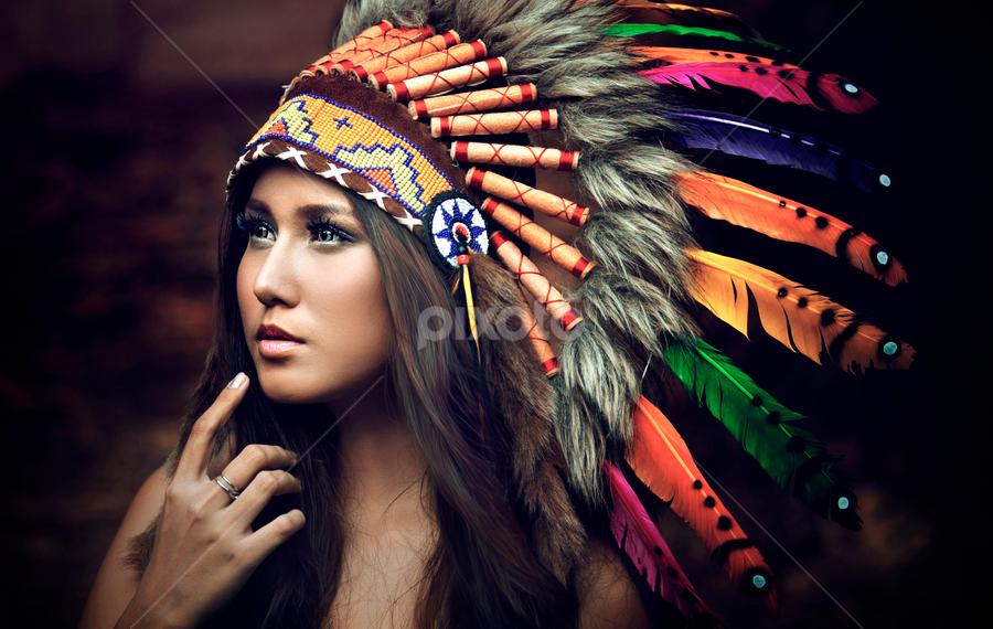 Maya indian by Ivan Lee - People Portraits of Women ( canon, model, girl, indian, beauty )