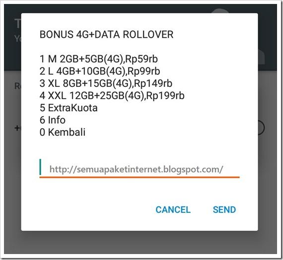 Daftar Paket Internet Indosat Ooredo