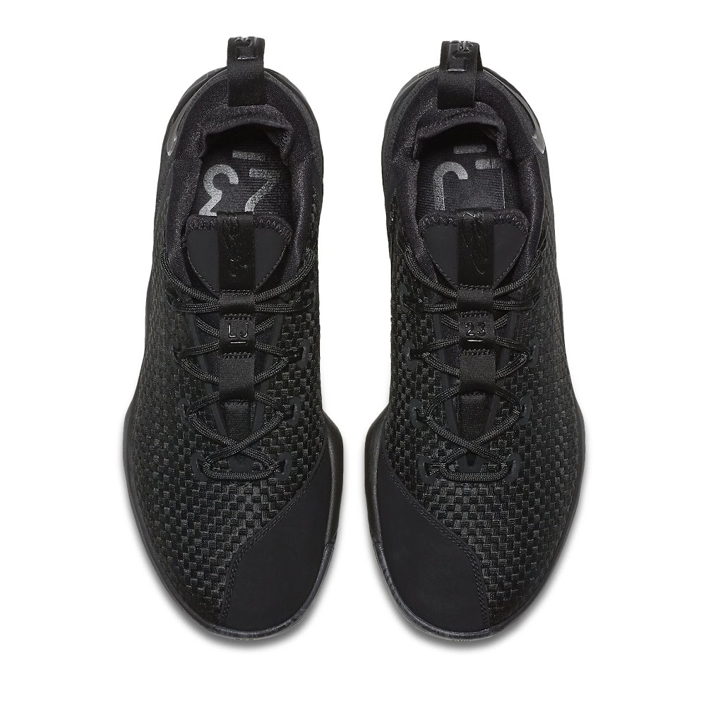 d2afa2e48582 ... Nike Launches LeBron XIV Low Triple Black Next Week