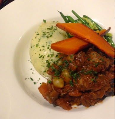 Beef stew at The Bradgate, Newtown Linford