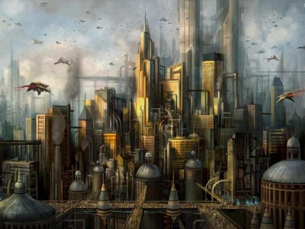 City Of Flame, Fiction 2