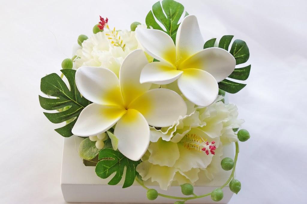 プルメリア リングピロー 海外挙式 リゾートウェディング リゾートブーケ ハワイ グアム バリ