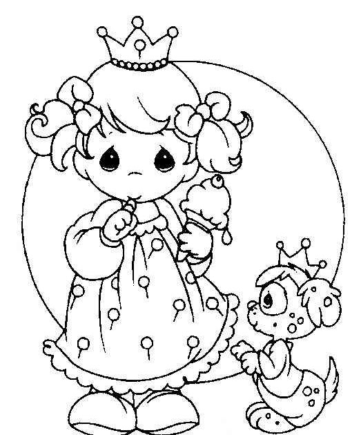 precious moments dog coloring pages - photo#23