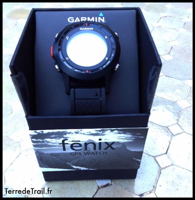 Boite Garmin fenix