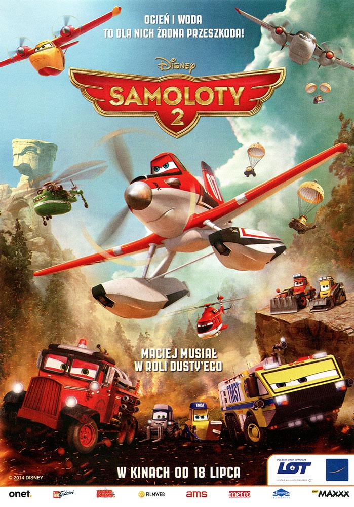 Ulotka filmu 'Samoloty 2 (przód)'