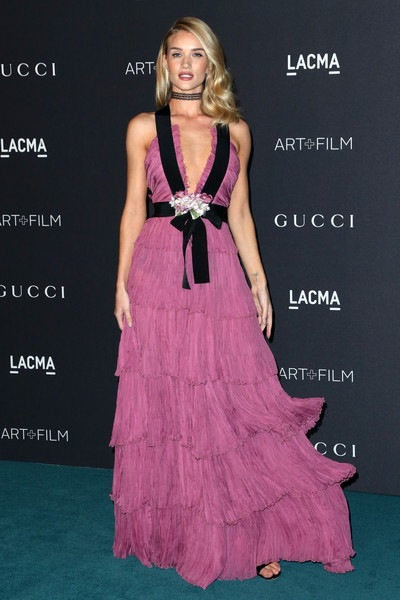 Rosie Huntington-Whiteley attends LACMA 2015 Art Film Gala