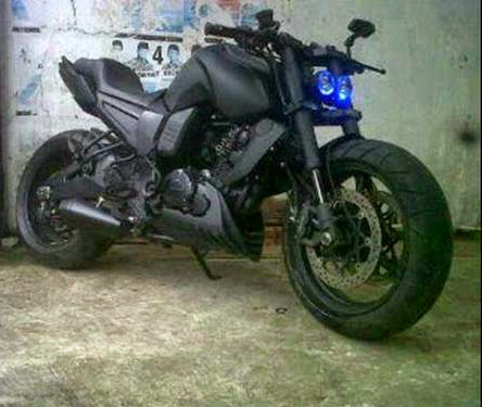 Yamaha Fz Modified Headlight