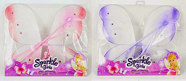 Đồ chơi Đôi cánh Nàng tiên và Đũa thần Sparkle Girlz dành cho bé gái