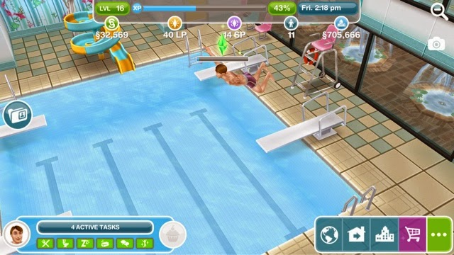 how to build community center sims freeplay