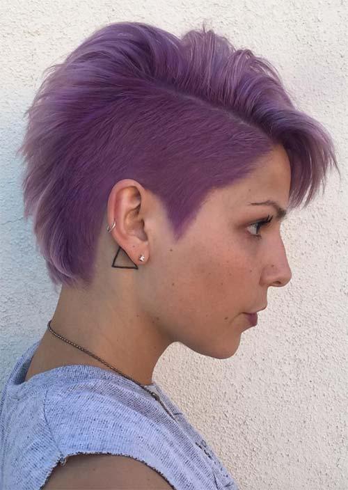 Rad Short Undercut Hairstyles 2018 For Women Fashionre