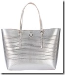Karen Millen Large Perforated Tote - gold also