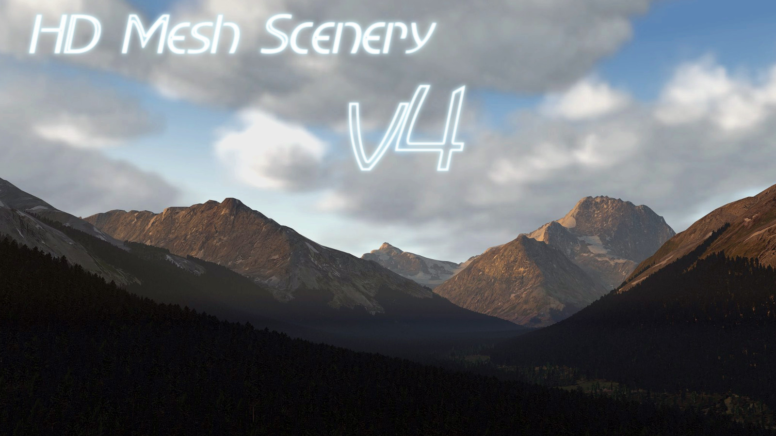 HD Mesh Scenery v4 (for X-Plane 11)