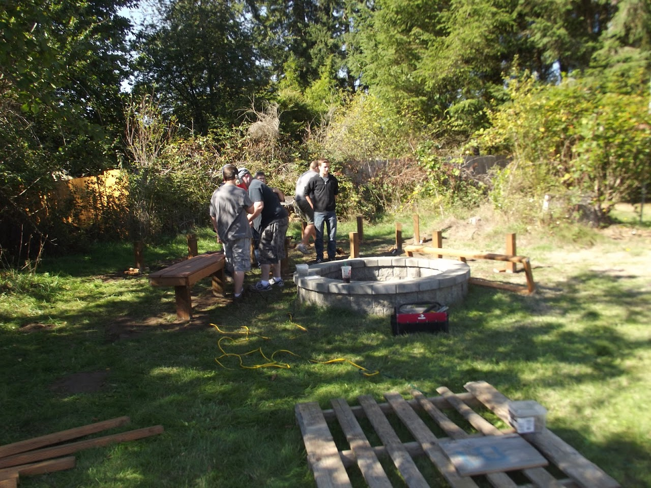 Carsons Eagle Project - October 2015 - DSCF3834.JPG