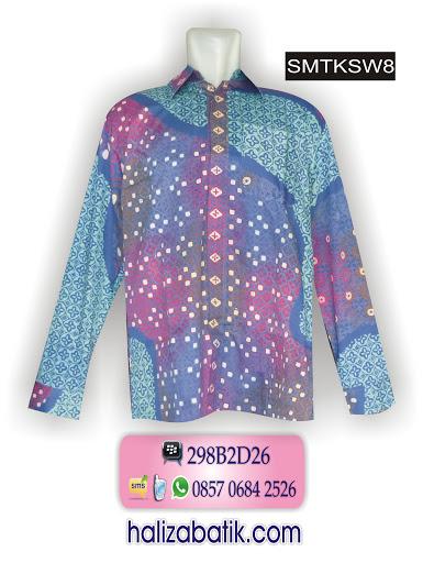 SMTKSW8 Batik Modern, Baju Batik Laki Laki, Model Baju Terkini, SMTKSW8