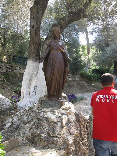 Statue of Mother Mary at the House of Mother Mary, Turkey