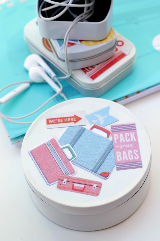 Mint Tins to Travel Containers with Mod Podge