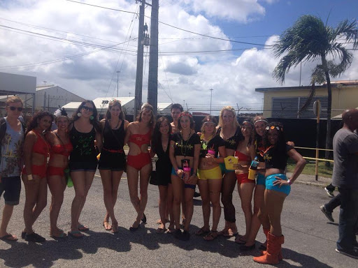 UWI Carnival, Barbados. #StudyAbroadBecause It Can Change Your Reality