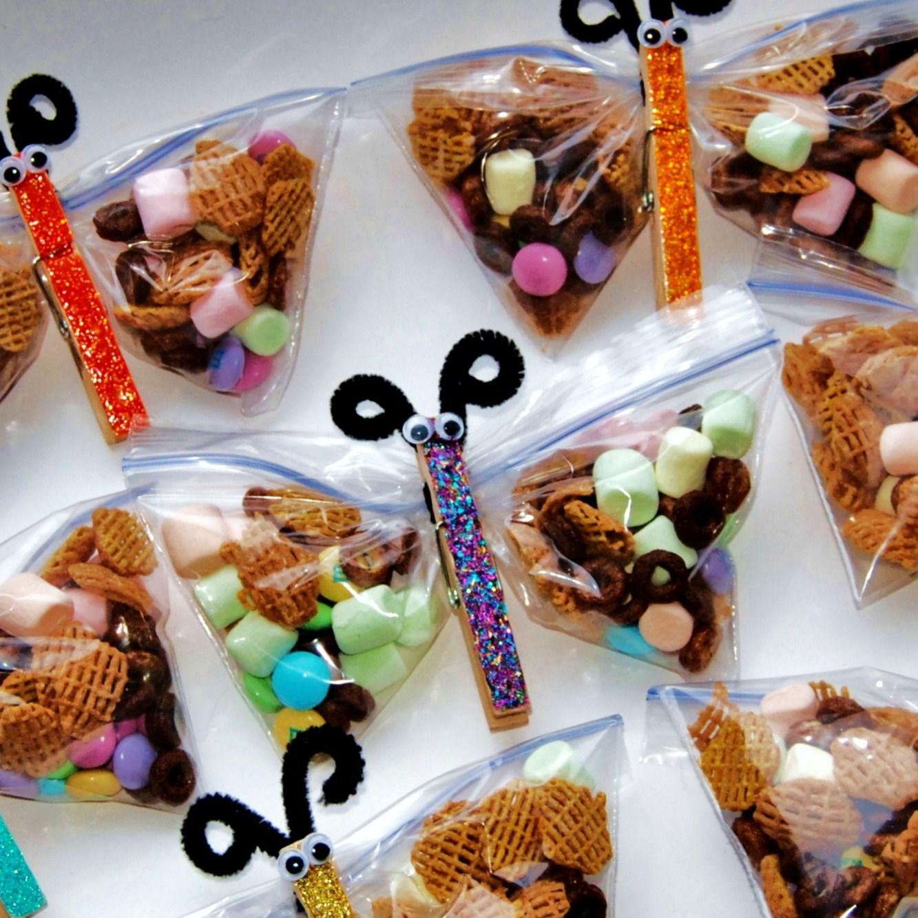 The broken oven butterfly snack bags - Fiestas infantiles ideas ...