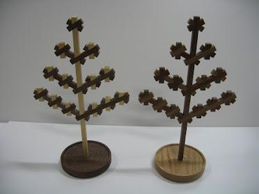 ジュエリーハンガーツリー2D(S) jewelry hanger kumiko tree