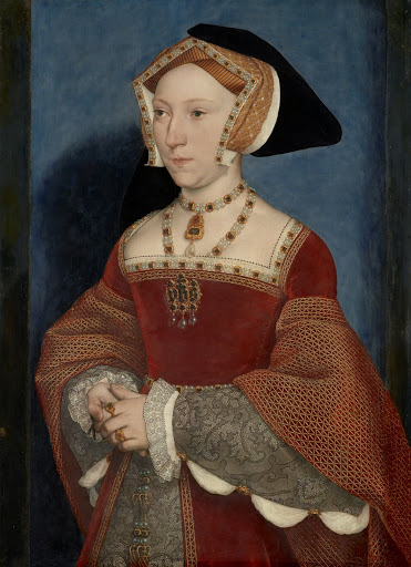 Holbein the Younger: Jane Seymour. From The Museum of Fine Arts Houston Cloaked in Magnificent Opulence