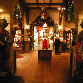 Yankee candle co Xmas display by Stephen Deckk - Public Holidays Christmas