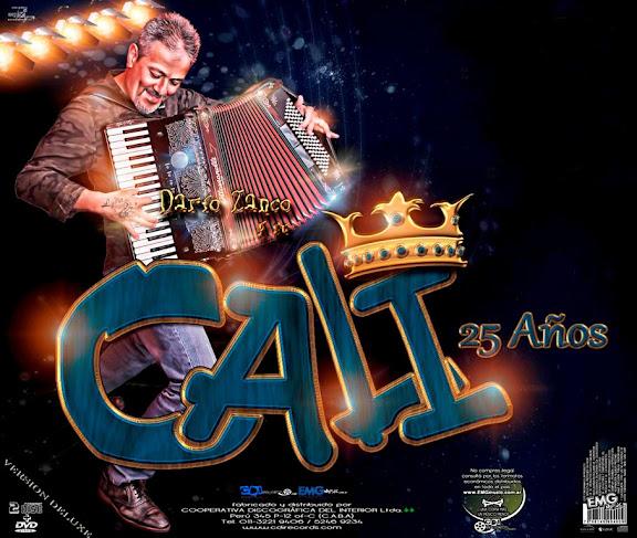 Grupo Cali - 25 Años- El Señor Del Acordeon CD 2