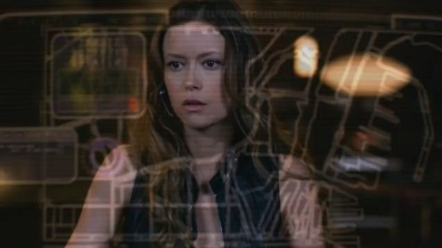 Summer Glau as Orwell in The Cape