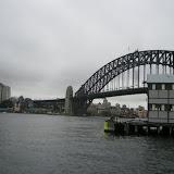 Sydney Harbor and the famous Sydney Harbor Bridge