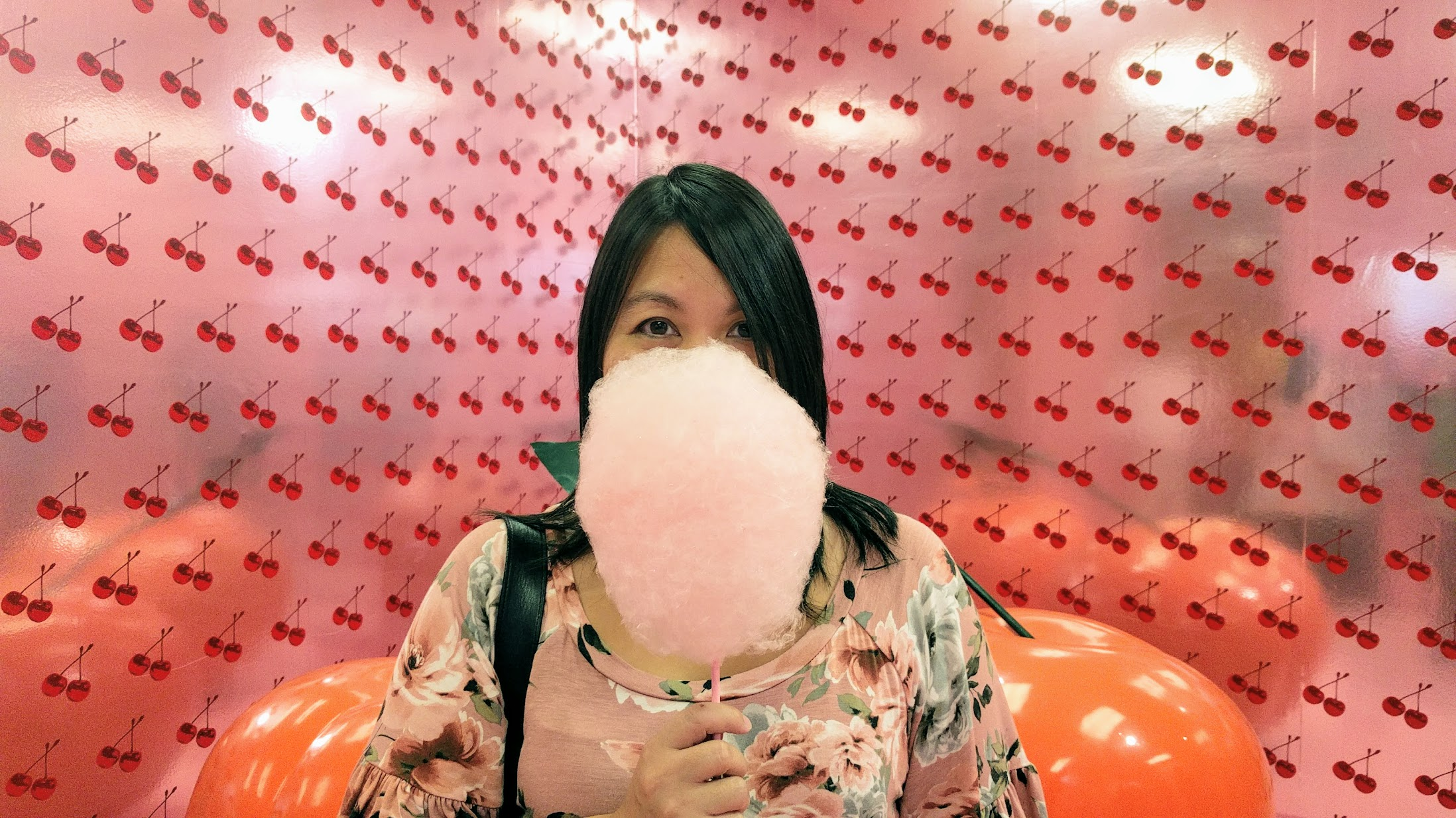 Museum of Ice Cream in San Francisco, cotton candy