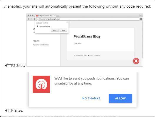 Cách hiển thị thông báo khi website có và không có SSL