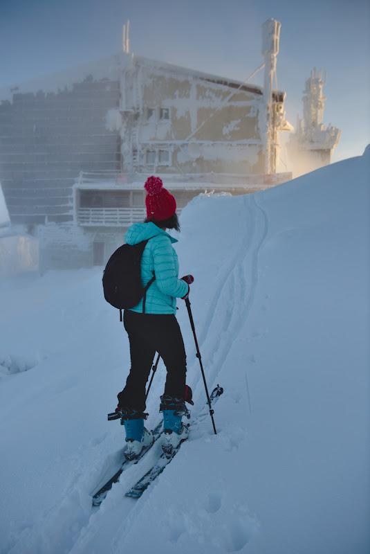 Irina la prima iesire din Postavaru din iarna asta.