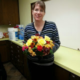 Ladies Flower Arranging November 2014