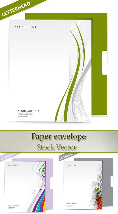 Stock: Paper envelope