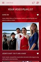 Screenshot of The Voice Australia