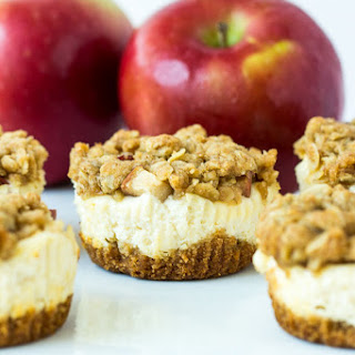 Fruit Crisp Cheesecakes