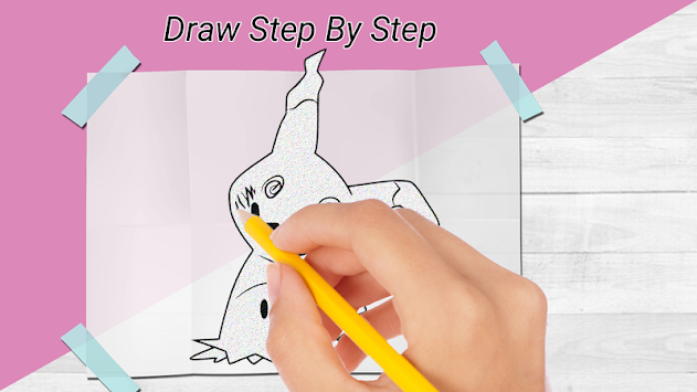How to draw pokemon & Pokemon APK screenshot thumbnail 3