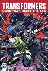 Actualización 28/06/2016: Transformers - More than Meets the Eye #53, traduce DarkScreamer, revisa Serika y maqueta Byjana.