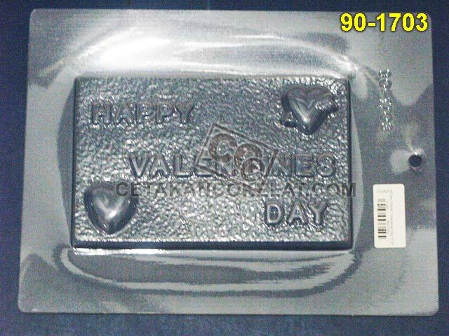 Cetakan Coklat 90-1703 cokelat love valentine