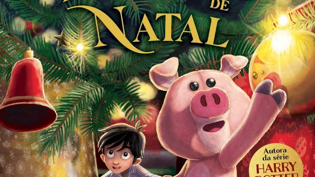 O livro ''Jack e o porquinho de natal'' de J.K. Rowling chega em 12 de Outubro nas livrarias