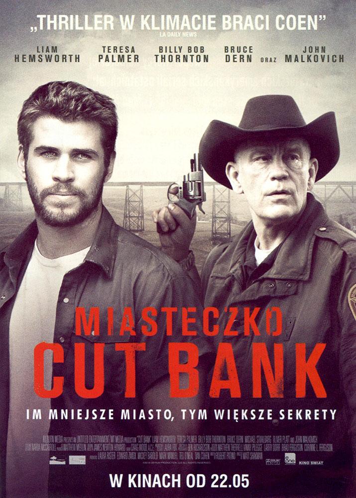 Ulotka filmu 'Miasteczko Cut Bank (przód)'