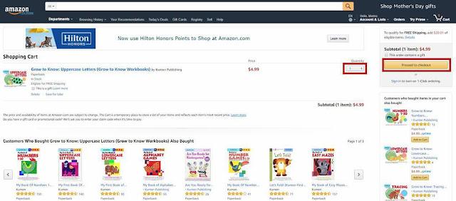 *Как сделать заказ на сайте Amazon.com 6