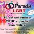 X Parada LGBT será dia 16 de setembro em Ruy Barbosa