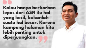 Memulai Karier dari Kantor Lurah, Kini Cita-cita Fadhil Arief Membangun Batanghari Sudah di Depan Mata