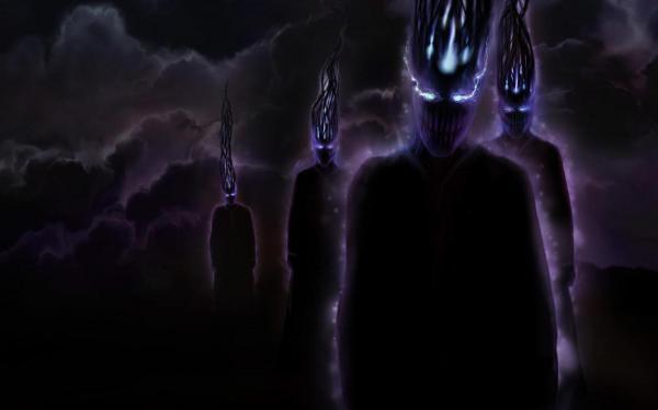 Dark Creepy, Evil Creatures