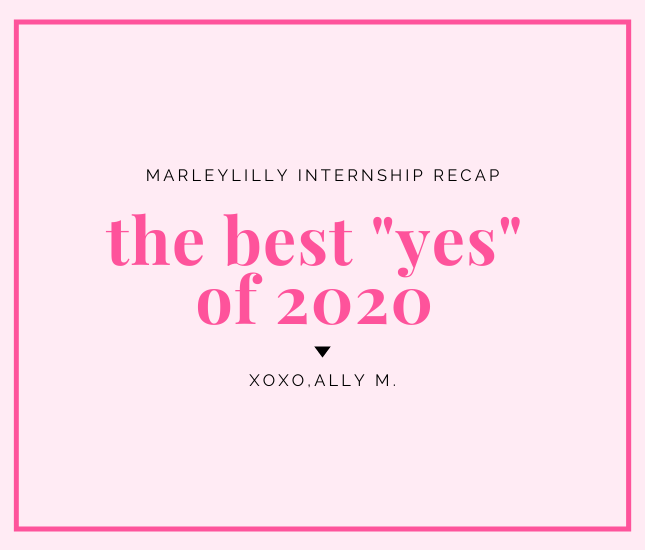 marleylilly internship recap