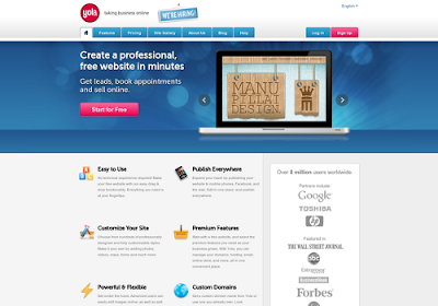 Yola.com free online website builders