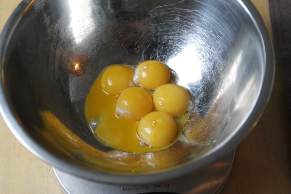 Five out of six yolks separated without break is pretty good.