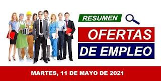 Bolsa de Trabajo Paraguay 11 de Mayo de 2021