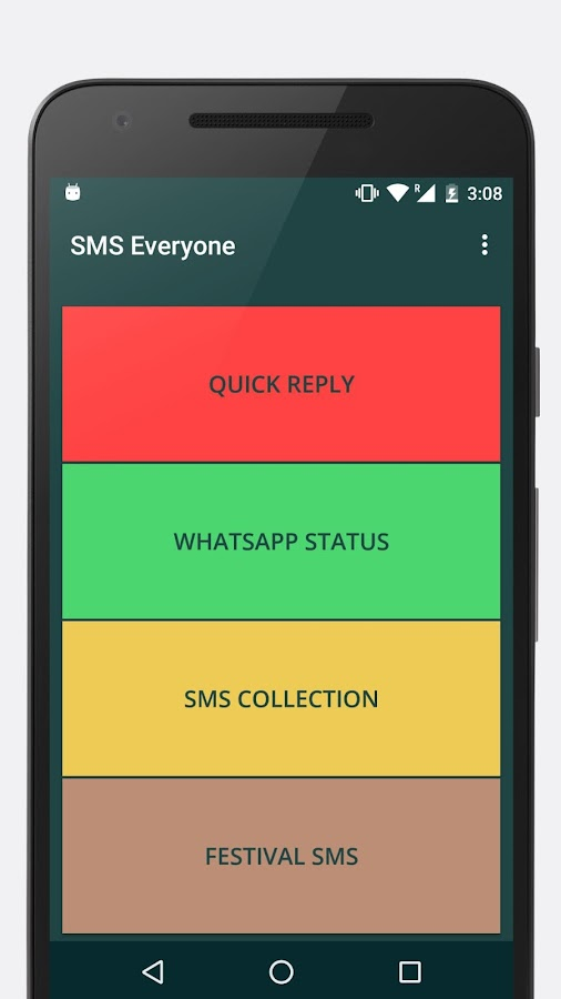 SMS Messages Collection- screenshot