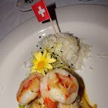 fancy dinner party in Interlaken in Grindelwald, Bern, Switzerland